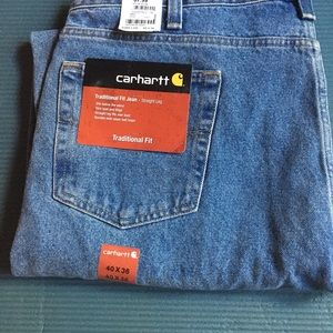 NWT Men's Carhartt Jeans - Traditional Fit 40/36